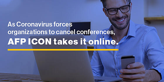 As Coronavirus forces organizations to cancel conferences, AFP ICON takes it online